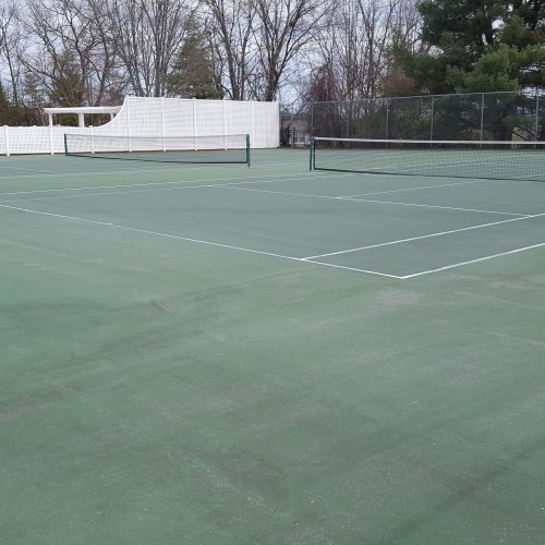 Before Princeton Prop-Boulder Apts Tennis Court